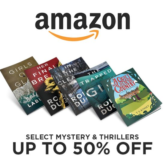 Up to 50% Off Select Mystery and Thriller Titles