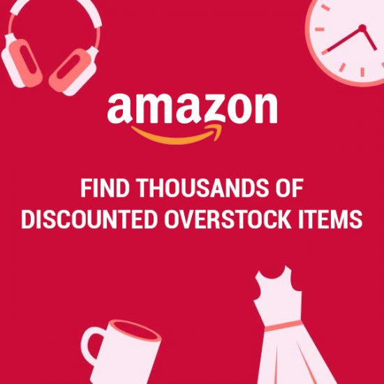 Up to 70% Off Overstock Items