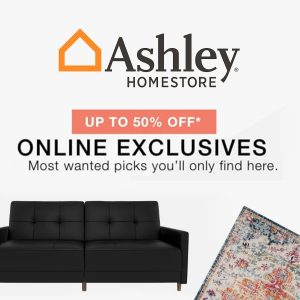 Up to 50% Off on Online Exclusive Furniture and Home Decor