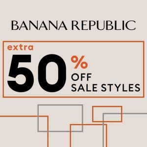 Extra 50% Off Sale Items or 30% Off Full-Priced Items