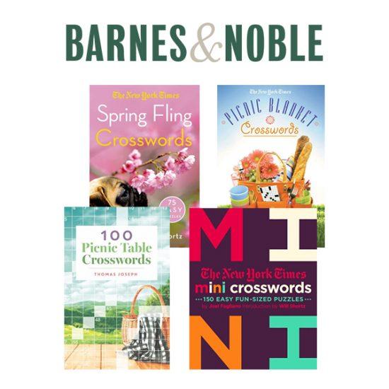 Crossword Puzzle Books: Buy 1, Get 1 Free