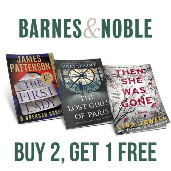 Buy 2, Get 1 FREE Paperbacks