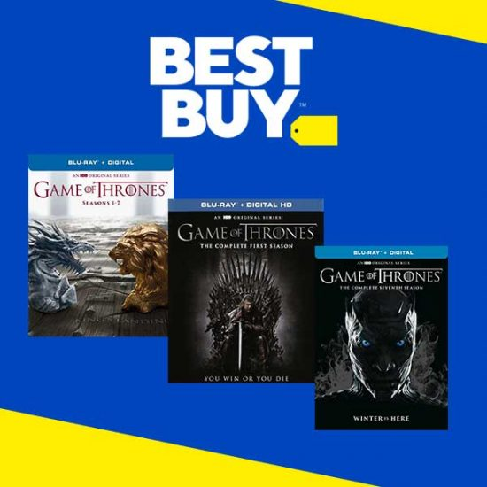 Up to $53 Off Select Game of Thrones Discs