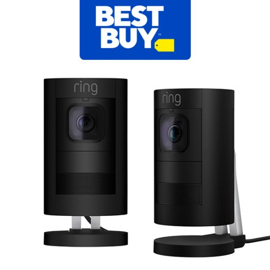 $30 Off When You Buy 2 Ring Stick Up Cam Security Cameras