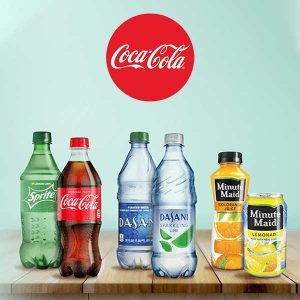 Get Any 20 Oz. Sparkling Coca-Cola, 20 Oz. Dasani, and 12 Oz. Minute Maid Beverage FREE