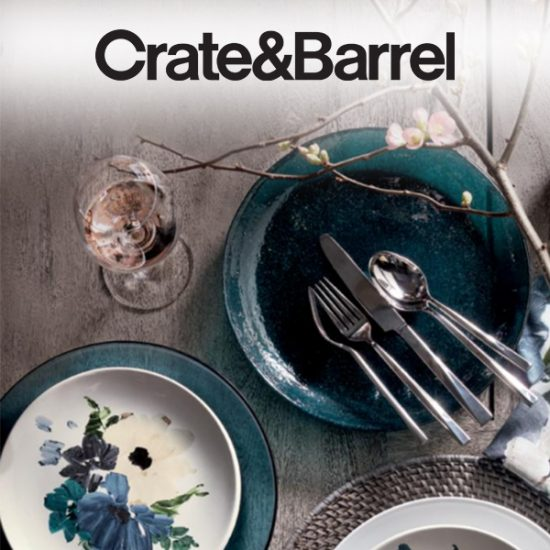 20% Off Dinnerware, Flatware, Glasses, Table Linens and Napkin Rings