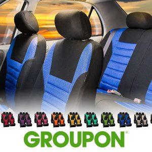 67% Off Premium 3D Air-Mesh Seat Cover Set