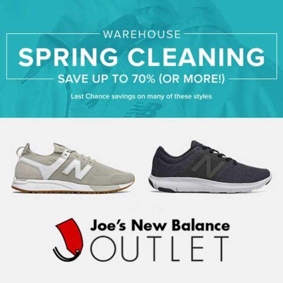 joe's new balance shoe outlet