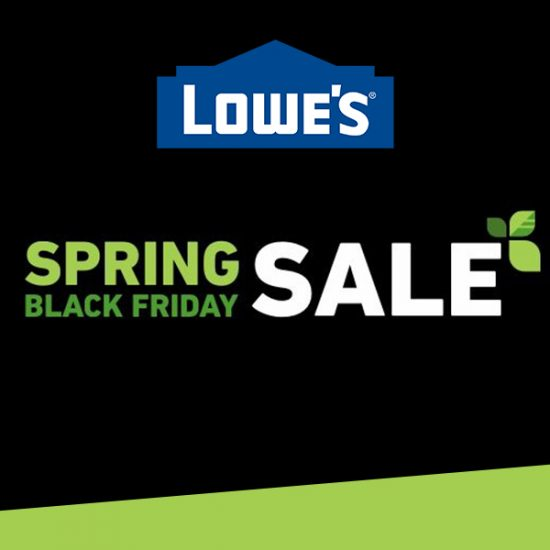 Enjoy Deals in Most Departments in Spring Black Friday Sale