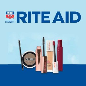Buy 1, Get 1 50% Off Maybelline Cosmetics
