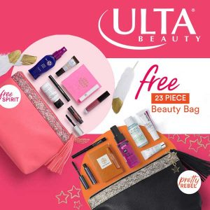 Free 23-Piece Beauty Bag With $80 Online Purchase