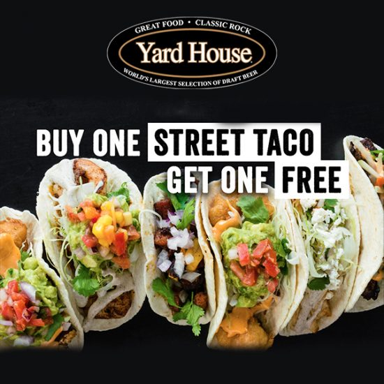 [ENDS TODAY] Buy 1, Get 1 Free Street Taco