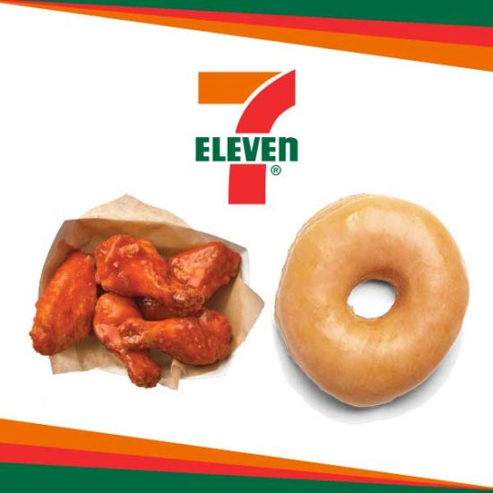 $1 Glazed Donut, 10/$6 Wings and Other Food Deals