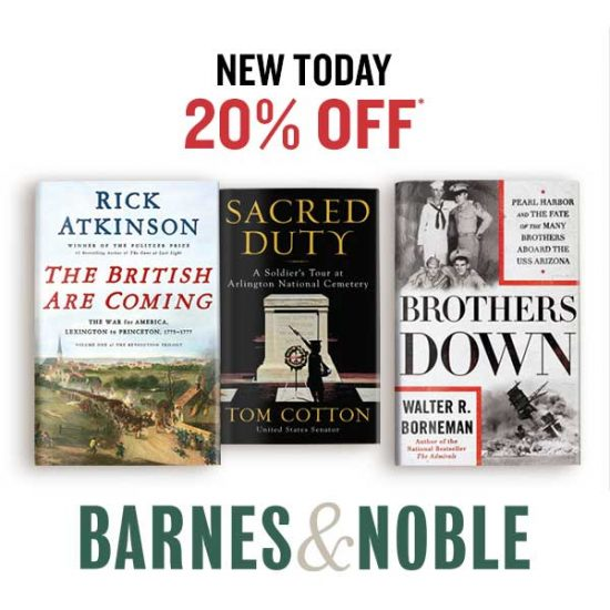 20% Off Popular Summer Reading