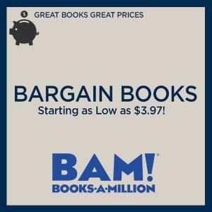 Bargain Books Starting as Low as $3.97