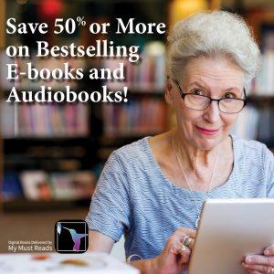 Over 50% Off eBooks and Audiobooks