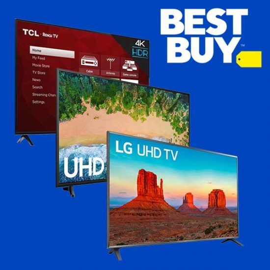 4K Smart TVs 65-inches & Larger as Low as $499.99