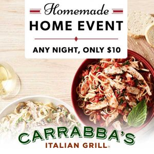 Buy 1 Regular-Priced Entree, Take 1 Home for $10