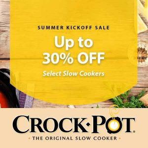 Up to 30% Off Select Slow Cookers