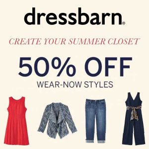 50% Off Wear Now Styles