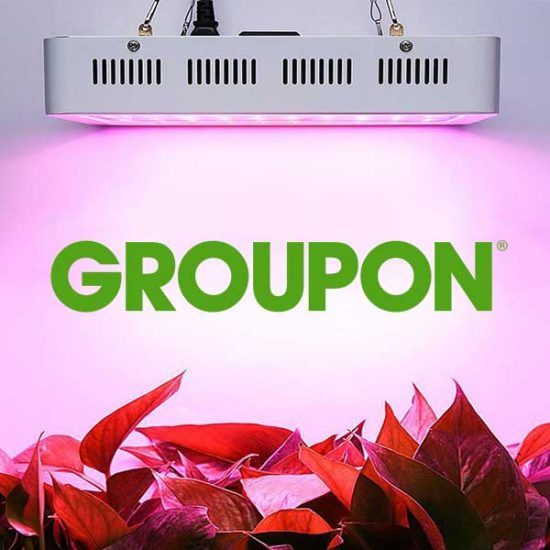 Up to 37% Off Double Chip Full Spectrum LED Grow Light