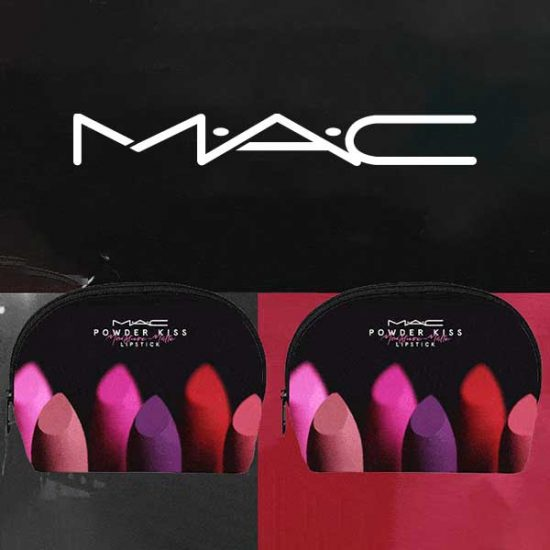 Free Powder Kiss Make Up Bag With $45 Purchase