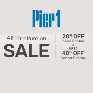 20% Off Indoor Furniture + Up to 40% Off Outdoor Furniture
