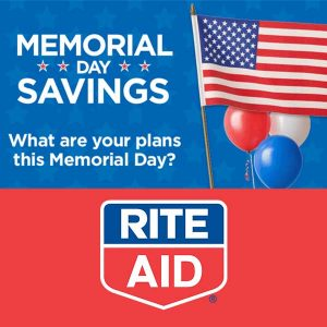 Personalized Memorial Day Savings