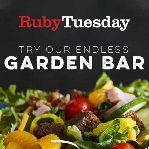 5/21 Only: $5 Endless Garden Bar