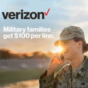 Military Families Get $100 Per Line