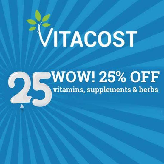20% Off Vitamins, Supplements & Herbs