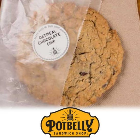 Free Oatmeal Chocolate Chip Cookie