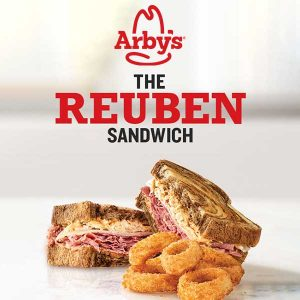 Free Onion Rings w/ Purchase of Reuben Sandwich