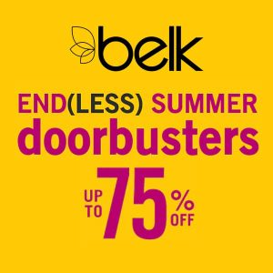 Up to 75% Off Doorbusters