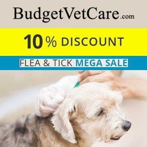 Flea & Tick Mega Sale: 10% Off w/ Code