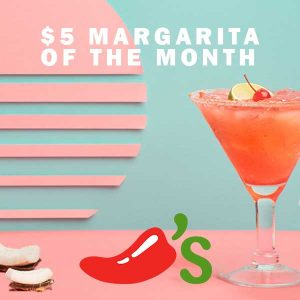 $5 Margarita of the Month