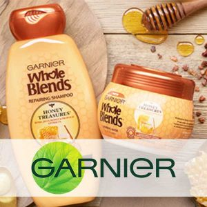 Free Garnier Whole Blends Honey Treasures Hair Mask Sample