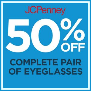 50% Off Complete Pair of Glasses