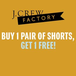 Buy 1 Pair of Shorts, Get 1 Free w/ Code