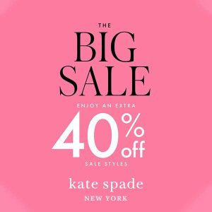 The Big Sale: Extra 40% off Sale Styles with Code