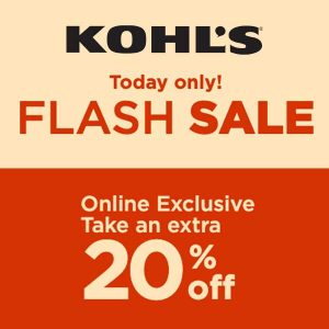[Ends 6/25] Flash Sale: Extra 20% Off