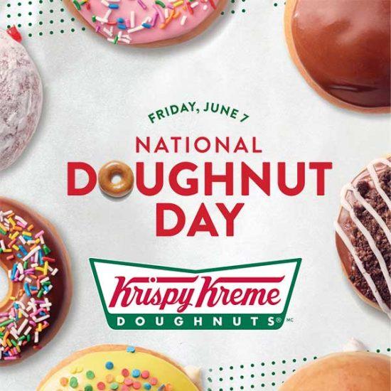 Free Doughnut for National Doughnut Day (6/7 Only)
