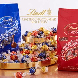 $20 Lindor 75-Piece Gourmet Chocolate Bags
