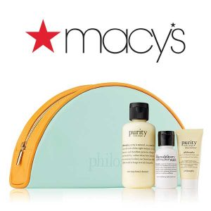 Free 3-Piece Gift Set and Bag w/ $37 Philosophy Purchase