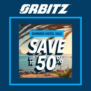 Up to 50% Off Hotels in Summer Sale
