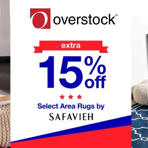 Extra 15% Off Select Safavieh Area Rugs