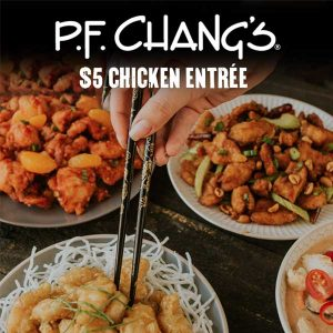 $5 Chicken Entree With Entree Purchase and Code