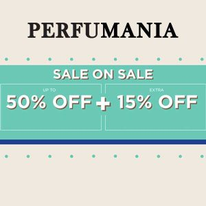 50% Fragrances + Extra 15% Off Sitewide w/ Code