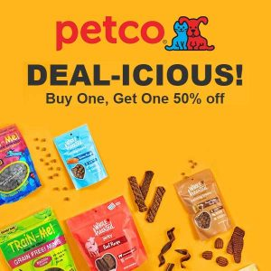 Buy 1, Get 1 50% Off Select Dog Treats & Chews