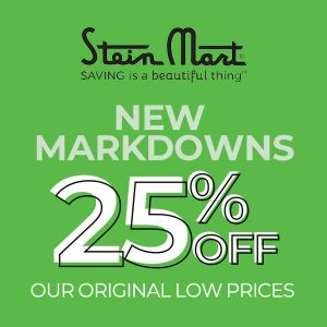 25% Off New Markdowns
